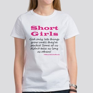 Short Girls Scoop Neck T-Shirt